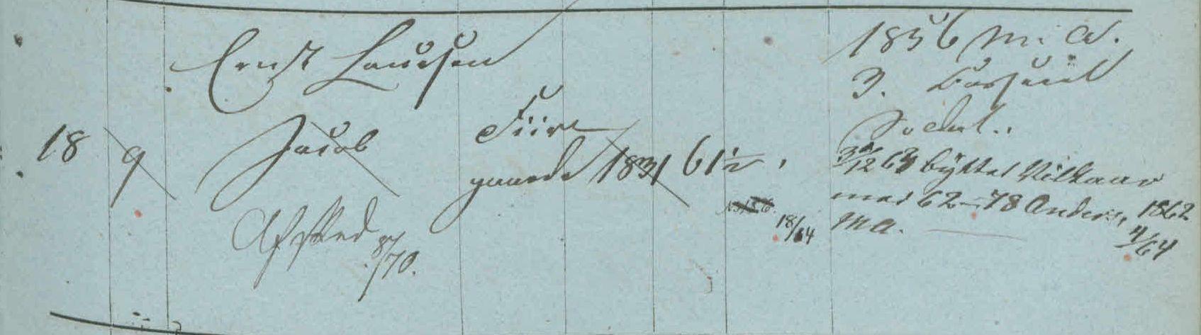 1859 Jacob Ernstsen
